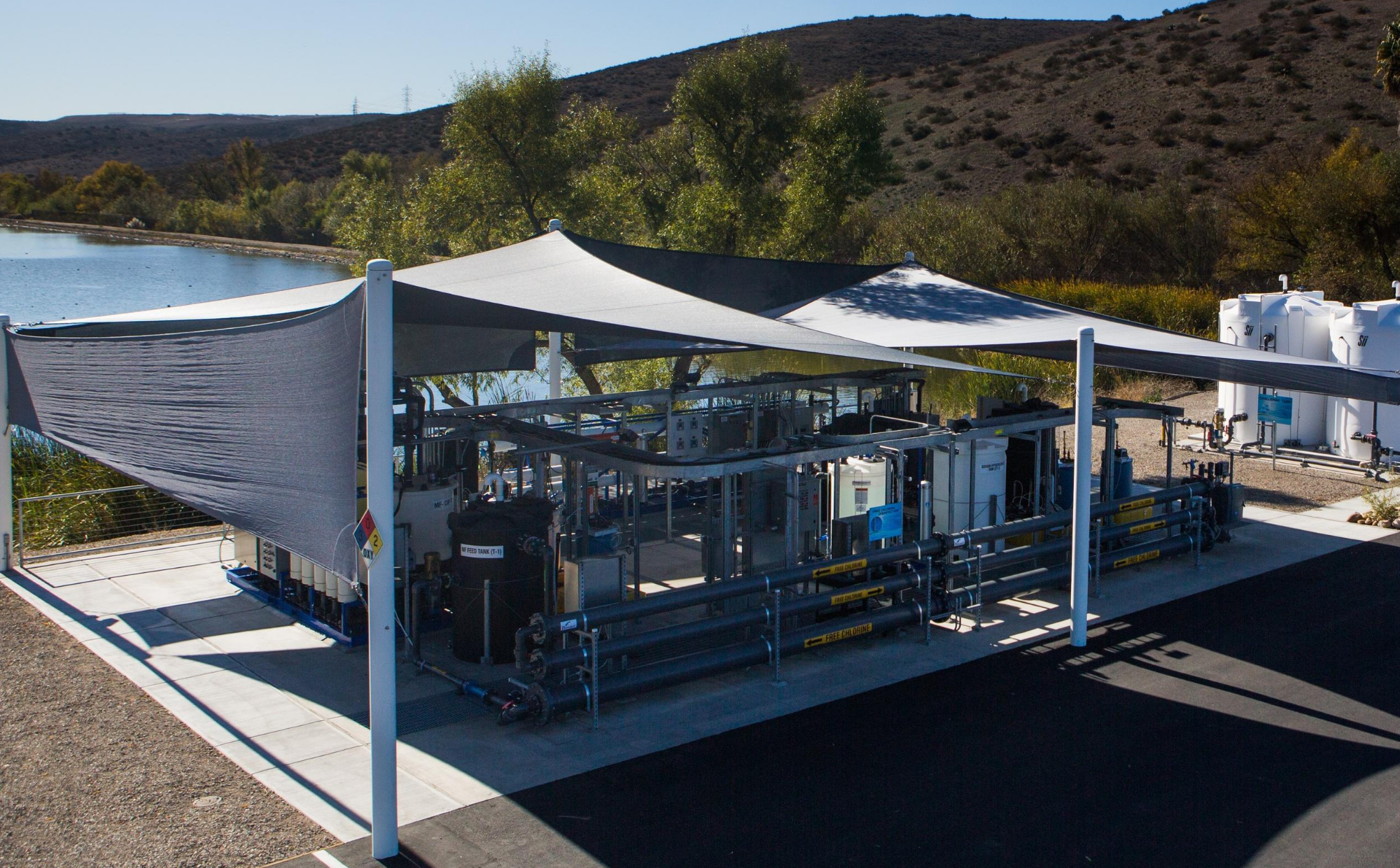 Advanced Water Purification Demo Facility
