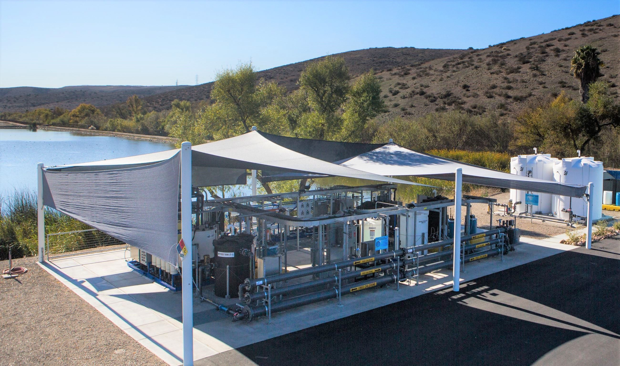 Advanced Water Purification Demonstration Facility